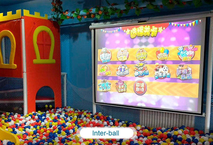 Interactive floor game projector interactive projection wall children game machine サプライヤー